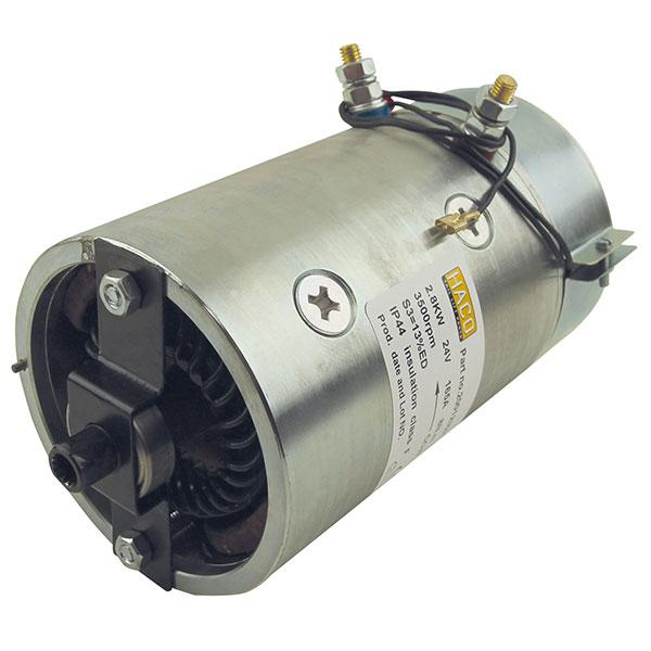Motor 2,8kW 24V open star counterclockwise HACO