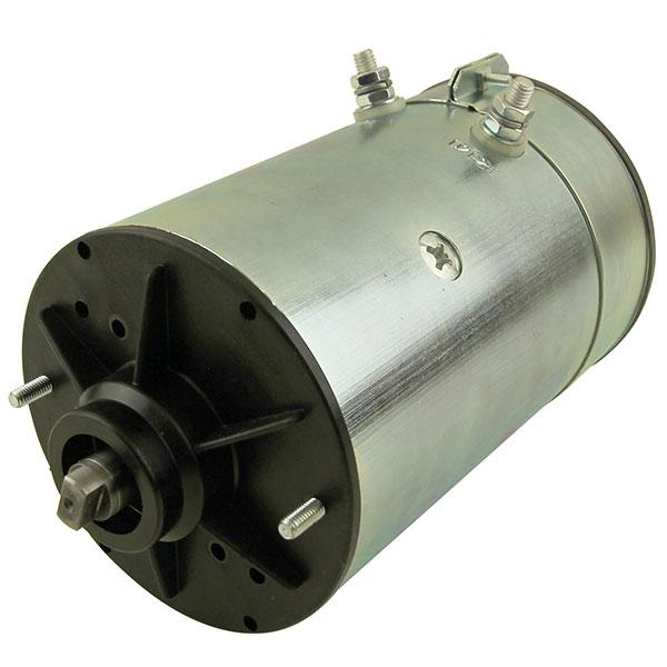 Motor 3kW 24V open male clockwise Iskra