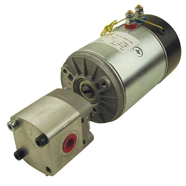 Motor 24V with pump HACO