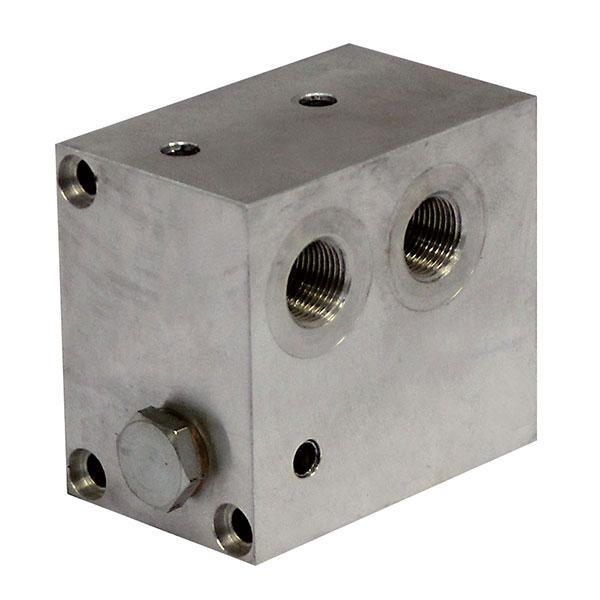 Ventilblock HE 6000 slide under HACO
