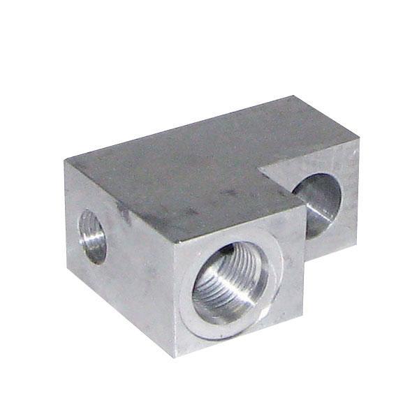 Aluminiumblock slangbrottsventil HACO