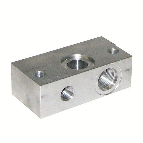 Aluminiumblock slangbrottsventil BZZ HACO