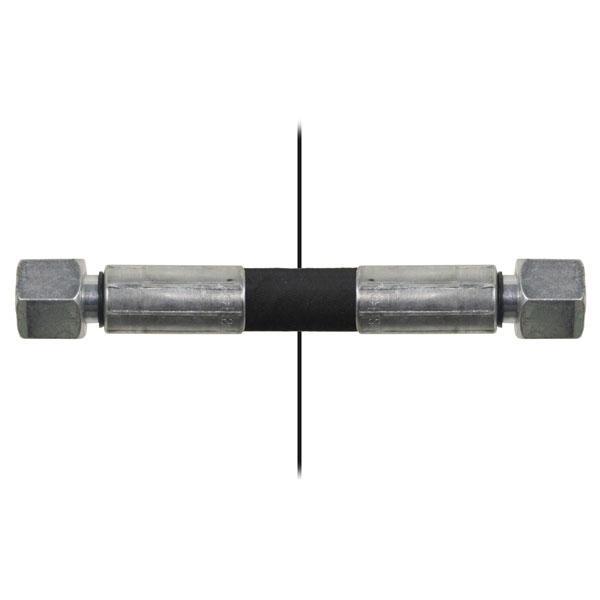 Slang med invändig gänga=10L/gänga =10L - Längd 900mm