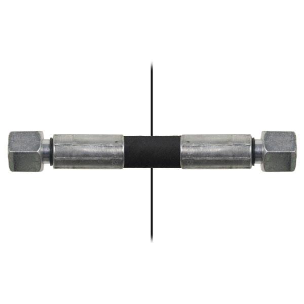 Slang med invändig gänga=10L/gänga =10L - Längd 850mm