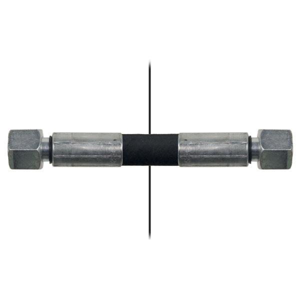 Slang med invändig gänga=10L/gänga =10L - Längd 700mm