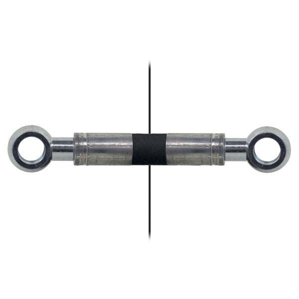 Slang med banjokoppling=Ø1/4''/Eye=1/4'' Längd 650mm