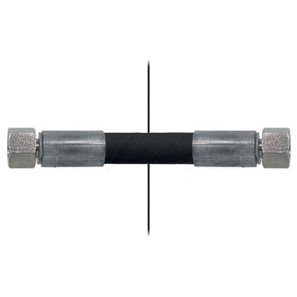 Slang med invändig gänga=1/4'' /gänga =1/4'' - Längd 1070mm