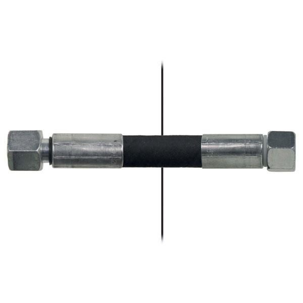 Slang med invändig gänga=12L/gänga =12L - Längd 2000mm