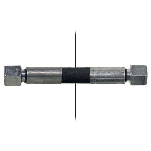 Slang med invändig gänga=10S/gänga =10L - Längd 820mm