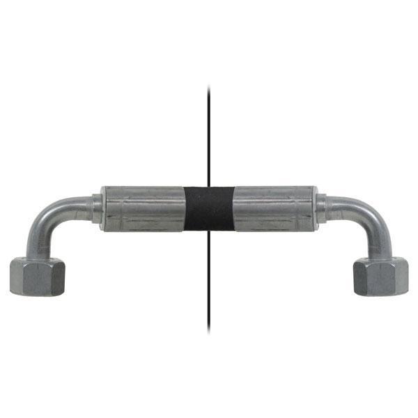 Slang med invändig gänga=10L90°/gänga =10L90° - Längd 350mm