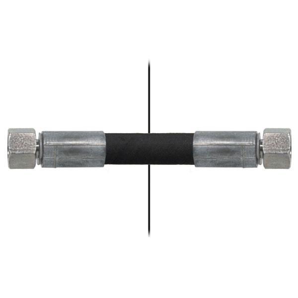 Slang med invändig gänga=1/4''/gänga =1/4'' - Längd 1400mm