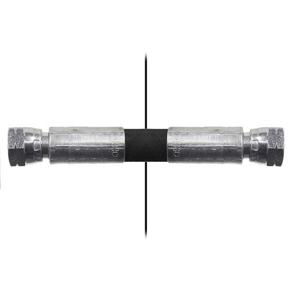Slang med invändig gänga=6L/gänga =6L90° - Längd 800mm