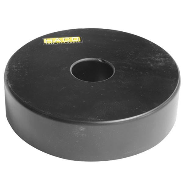 Stödhjul / Brygghjul Ø130/30-35mm HACO