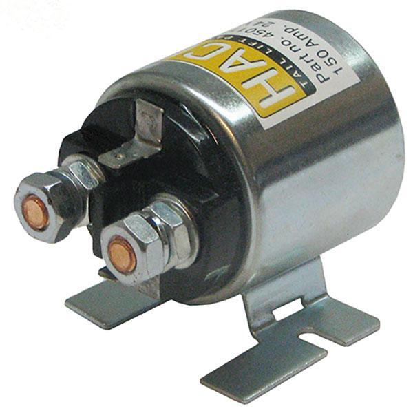 Startsolenoid 12V 150 Amp. HACO