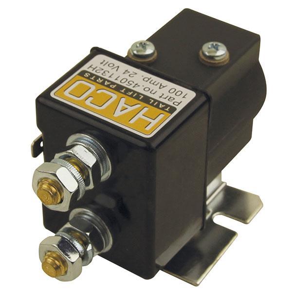Startsolenoid 24V SW80-PL HACO