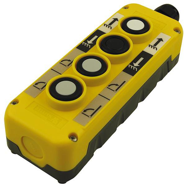 Control box 4-button 2xNO Mafelec