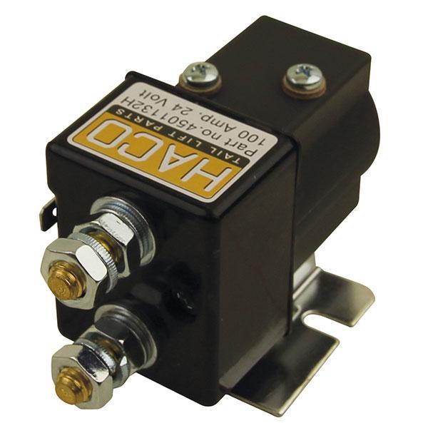 Startsolenoid 24V SW80-PE HACO