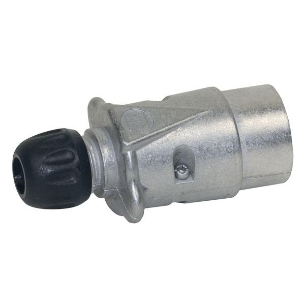 Connector 7-Pins aluminium HACO