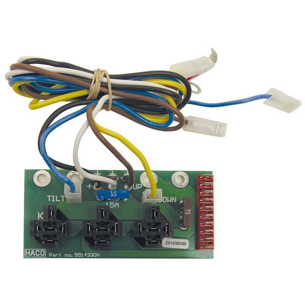 Kretskort BZ/SZH 3 relay HACO
