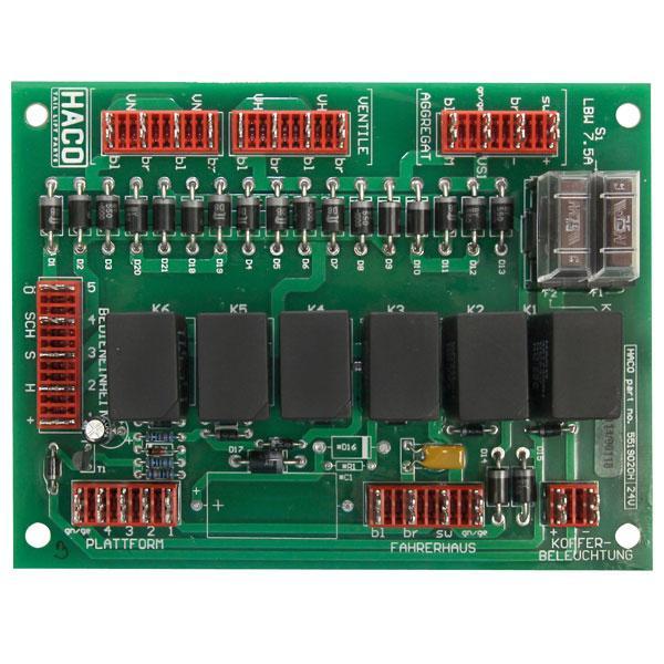 Kretskort (PCB) S4 24V HACO