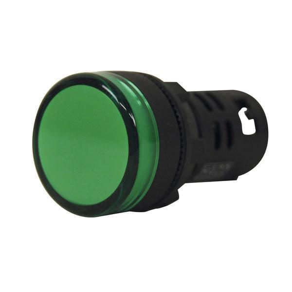 Indicator light green 24V HACO