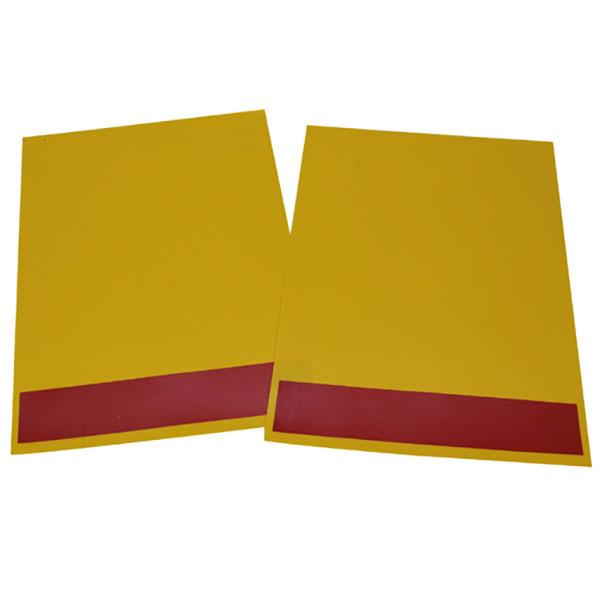 Set flags yellow UK HACO